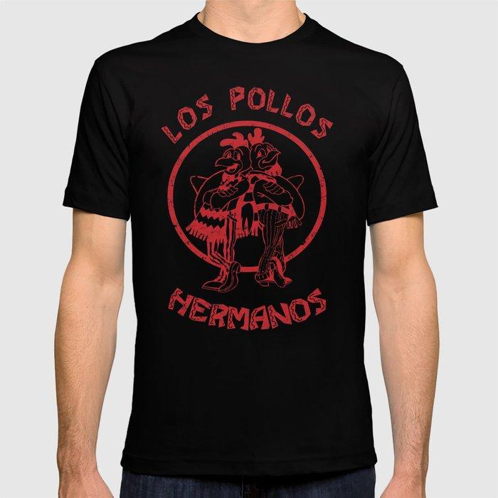 728b1c8dee61 Los Pollos Hermanos vintage ( Breaking Bad ) T-shirt by outerheaven ...