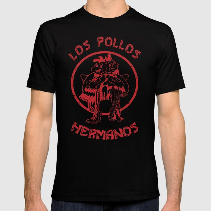 64175e8f Los Pollos Hermanos vintage ( Breaking Bad ) T-shirt by outerheaven    Society6
