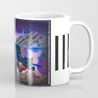 scarface Mugs featuring scarface by Vector Art