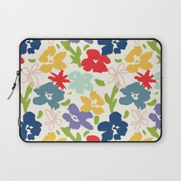 70s inspired loose florals Laptop Sleeve