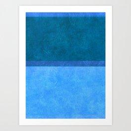 Imagining Rothko In Spring #1 Art Print
