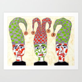 The Projectors Art Print