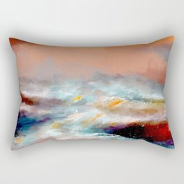 The storm - nothing else Rectangular Pillow