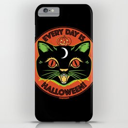 Every Day is Halloween iPhone Case