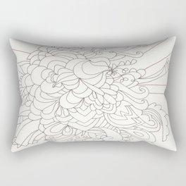 Burst Forth Rectangular Pillow