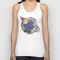 over the garden wall Tank Tops featuring Over the garden wall by podborski