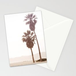 Vintage Summer Palm Trees Stationery Cards