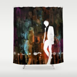 The invisible man... Shower Curtain