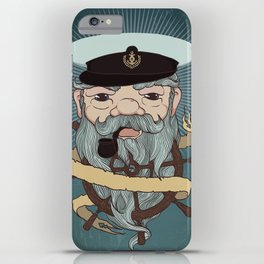 Sea wolf iPhone Case