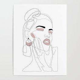 Blush Splash Poster