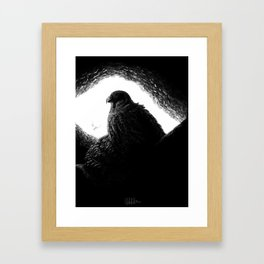 Egyptian Deities: Quebesenuf Framed Art Print