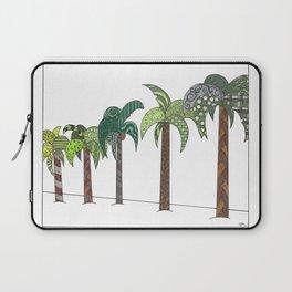 Palm Tree Lined Street Laptop Sleeve