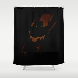 The Panther Shower Curtain