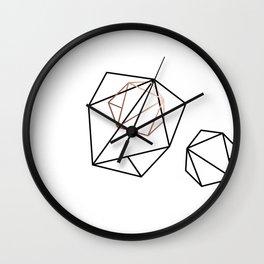 Abelie (Black & gold) Wall Clock