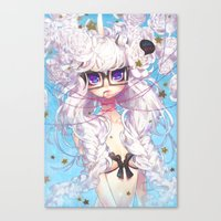 barachan Canvas Prints featuring fixation by barachan