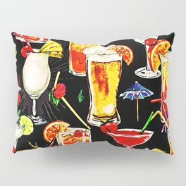 Cocktail Hour in the Tropics Pillow Sham