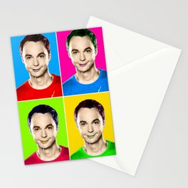 Jim Parsons pop art! Stationery Cards