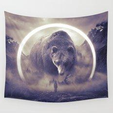 aegis II | bear Wall Tapestry
