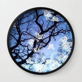Llansteffan woodland Wall Clock