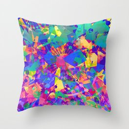 Fractal Cauldron Throw Pillow
