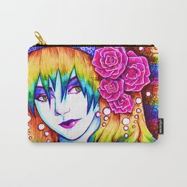 Rainbow Hair Carry-All Pouch