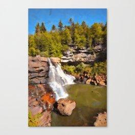 Blackwater Falls, West Virginia Canvas Print