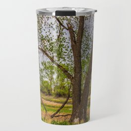 Cottonwoods at Lee's Farm 3 Travel Mug