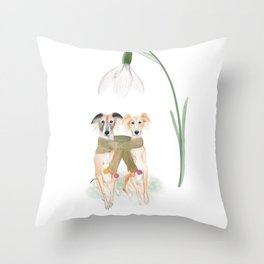 Silken Windsprite Throw Pillow