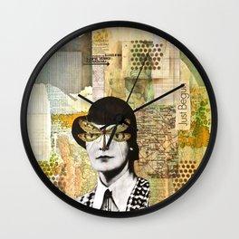 Just Begun Wall Clock