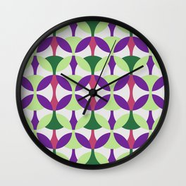 SEVENTIES PATTERN  Wall Clock