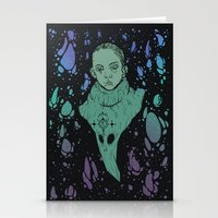 aliens Stationery Cards featuring Aliens by Tapioles II