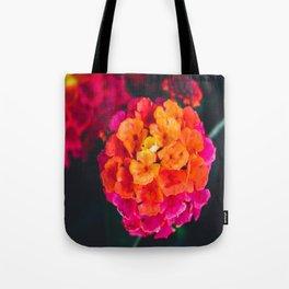 Color Pop Flower Tote Bag