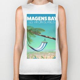 Magens Bay USA Virgin Islands Biker Tank