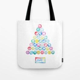 abstract Christmas tree Tote Bag