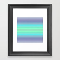 Just Some Colors Framed Art Print