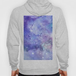 Colorful deep space background Hoody