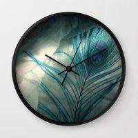 the mortal instruments Wall Clocks featuring Vigilant Mortal by KunstFabrik_StaticMovement Manu Jobst