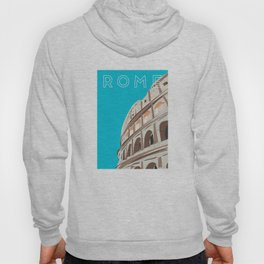 Rome, Italy Colosseum Travel Poster Hoody