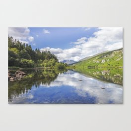 Llyn Mymbyr and Snowdon Canvas Print