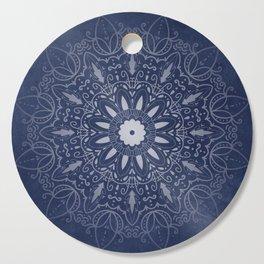Indigo Mystique Mandala Cutting Board