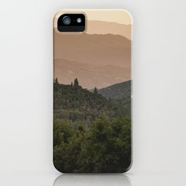 Southern California Wilderness iPhone Case