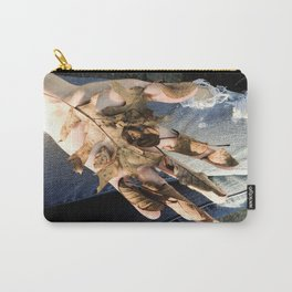 dead denim Carry-All Pouch