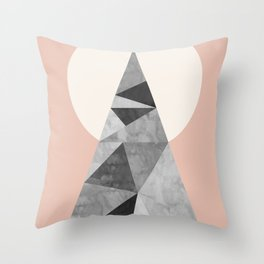Polygon geometry XIII Throw Pillow
