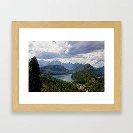 Hohenschwangau Bavaria Germany Framed Art Print