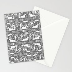 Unicorn Victorian Lace Stationery Cards