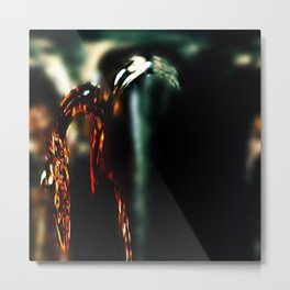 Pomegranate Tears V Metal Print