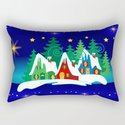 Christmas, Home for the Holidays Midnight Blue, Holiday Fantasy Collection by momsboxershorts