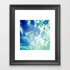 Charging Framed Art Print