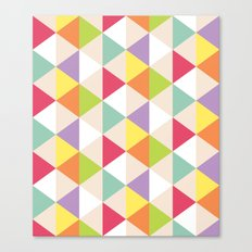 Love Triangle Canvas Print