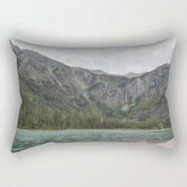 Avalanche Lake No. 3 - Glacier NP Rectangular Pillow